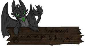freakness96 - Welcome Sign by therealtwilightstar