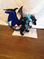 Mega charizard x sculpture by griffin126