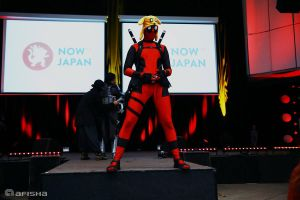 Deadpool at Nowjapan 2014 by Beyond-your-soul