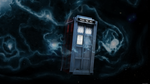 Tardis suspended in space Wallpaper by Kapziok