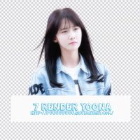Pack PNG #19 - SNSD YoonA by Puuuuuuuu