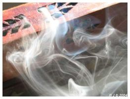 incense in the sun by fi-j