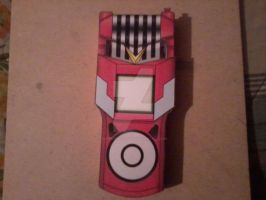 Mikey's Fusion Loader Digivice, Open PaperCraft by SuperVegeta71290