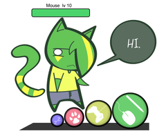Chibi Mouse by lmrl12