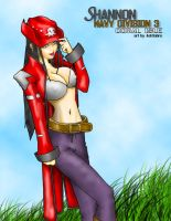 Shannon of Navy Division 3 by xero-vlade