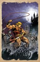 Simon Belmont by spidermanfan2099