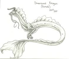 Dimensional Dragon F Concept by AshasCadence