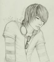 Music Is My Haven by A-Random-Pause