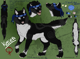 Keniera reference sheet by Jessica3green
