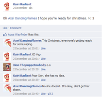 Merry Christmas from KH-Facebook? by PaopuCavallone