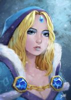 Crystal Maiden Fanart by reijubv