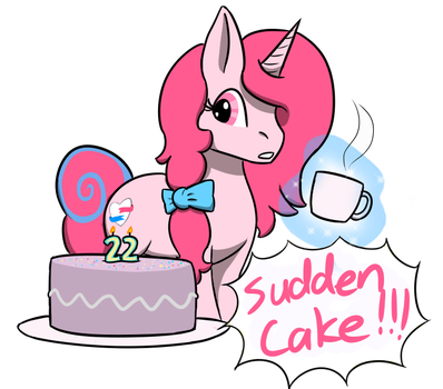 Sudden Cake by NottheFluffiest