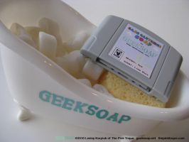 64-Bit Game Cartridge GEEKSOAP by pinktoque