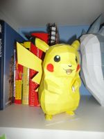 Pikachu Papercraft by societyisfucked