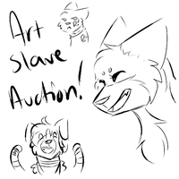 Art Slave Aution CLOSED by ForestAntlers