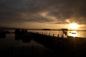 Sunrise From The Ferries by DemonsWrathPhotos
