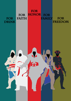 Assassin's Creed Poster by Pmaga