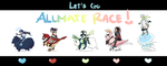 Allmate Race by EGGchibi