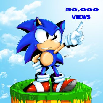 50,000 views by chickenoverlord