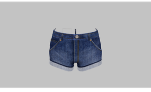 MMD HQ NJAX Short shorts by amiamy111