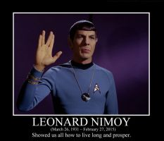 Leonard Nimoy Tribute by squirrelismyfriend
