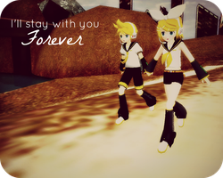 Rin and Len by CutiePie32510
