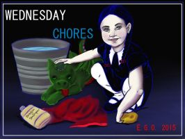 Wednesday Chores by papermuse