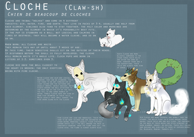 Cloche Species Refrence Sheet by Z0MBI-BUTTS