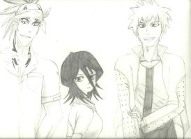 Bleach Background sketch by Purdy26