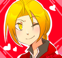 AT: Edward Elric by Shizuoki