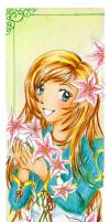 :C: Holly - bookmark by ann-chan20