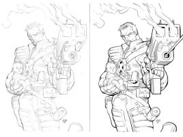 Cable inks 2.0 by johnnymorbius