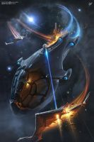Privateer Tales 3 Book cover by swat3d
