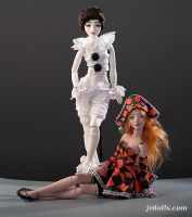 Porcelain BJD dolls by JRDolls