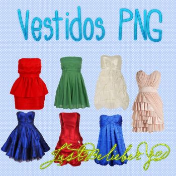 Vestidos PNG by JustBelieberYD