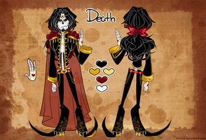 Death Reference Sheet by kimyk0