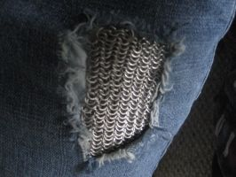Chainmail Patch by KisameSurfer123