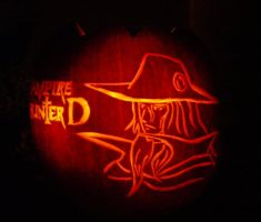 Vampire Hunter D Pumpkin 2 by DistantVisions