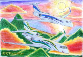 Oliver and Carla  - Sunset Flying by B737TheAirliner