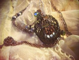 Sautoir cage - long necklace by Verope