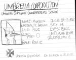 Mordecai's Umbrella I.D. Card by Dalton709