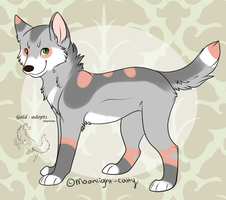 custom for ledronas by gold-adopts