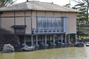 Japanese water-front house 2 by xim0nfir3x