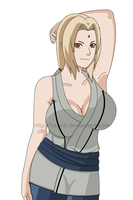 Sexy Tsunade Again by lrslink