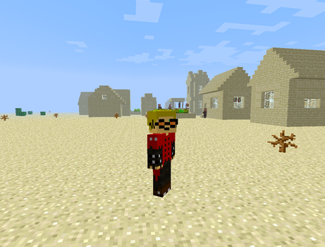 Vash The Stampede in Minecraft by Rthecreator