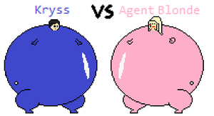 BST: Kryss VS Agent Blonde by Sergy92