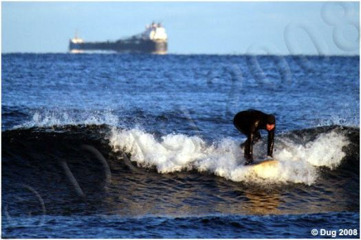 Surfs Up Temperatures Down by dugonline