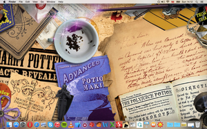 Harry Potter Desktop by half-blood-princess