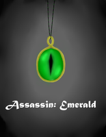 Assassin: Emerald Cover (commission) by XxAkaiAuraxX