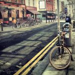 Bikes on the street by Pajunen